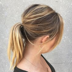 50 Best Ponytail Hairstyles in 2017 Check more at http://hairstylezz.com/best-ponytail-hairstyles/