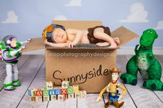 Disney's Toy Story newborn session - miami photographer