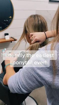 Work Hairstyles, Easy Hairstyles For Long Hair, Hair Upstyles, Aesthetic Hair, Hair Videos, Great Hair, Hair Looks, Hair Inspiration, Curly Hair Styles