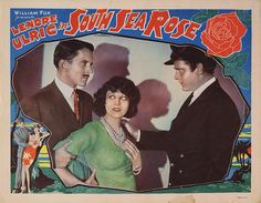 Lobby Card from the film South Sea Rose