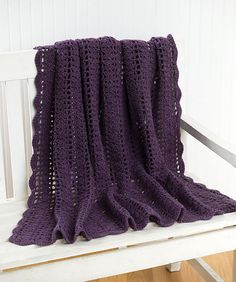 Ravelry: Crochet Heathers Throw pattern by Melissa Leapman