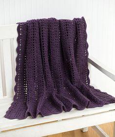 Ravelry: Crochet Heathers Throw pattern by Melissa Leapman