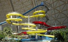 Europe biggest indoors waterpark