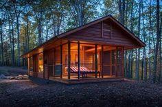Hunting cabin.