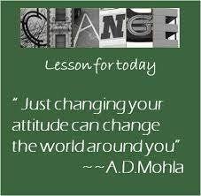 As the saying goes - if you can't change your latitude, change your attitude!