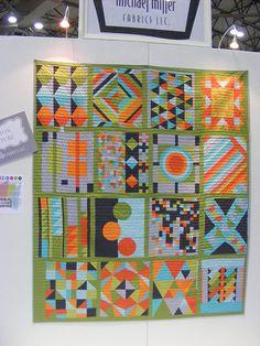 quilt market - Modern quilt guild quilt