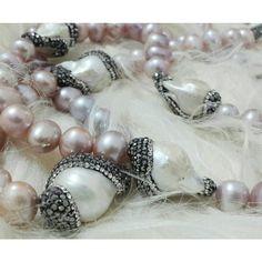 #StatementNecklace #BaroquePearl #Swarovski    #Crystal #Njewels #Pearlfection