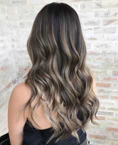 Beautiful hand painted hair. Balayage perfect for spring!