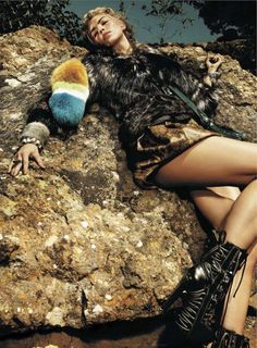 into the wild: emily senko by rennio maifredi for us marie claire august 2012