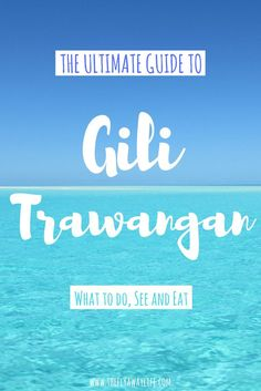 Gili T in Indonesia is an island paradise! With so much to do and see there is something for everyone. This Gili Trawangan travel guide highlights the best! - - #Indonesia #IndonesiaTravel #GiliIslands #SoutheastAsia #Asia #BackpackSoutheastAsia #AsiaTravel #Travel #Beach #IndonesiaTravelGuide #IslandTravel #TravelGuide #SummerTravel