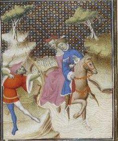 Giovanni Boccaccio, De Claris mulieribus; Paris Bibliothèque nationale de France MSS Français 598; French; 1403, 35v. http://www.europeanaregia.eu/en/manuscripts/paris-bibliotheque-nationale-france-mss-francais-598/en