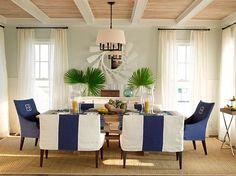 Beach House Interior Design Dining room