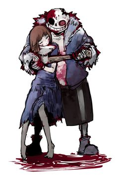 how to defeat horrortale sans: SIMPLY MAKE OUT WITH HIM!! HES SO HOT!!! AND HES SANS!!!!!!!!!!! AAAAAAAAAAAAAAA!!!!! HE NOTICED YOU!!!!!!!