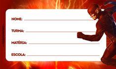 etiquetas-volta-as-aulas-2017-flash-1 totalmente grátis, pronto para personalizar e imprimir em casa. The Flash, Children, Movies, Poster, Gabriel, Origami, 1, Frozen, Tags