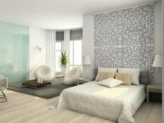 """Gli spazi a disposizione in casa sono sempre più ridotti e bisogna ottimizzarli al meglio. Questo però non significa che non possiamo dare alla nostra *camera da letto* un effetto *high-tech e """"nature""""* di tendenza, non trovate? http://www.arredamento.it/notte/camera-da-letto/camere-da-letto-moderne/stanze-da-letto.html #consiglicameradaletto #hightech #nature"""