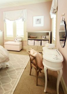 That wall color! Sloane's room