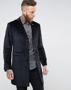 Noose & Monkey   Noose & Monkey Velvet Overcoat
