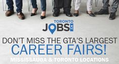 the largest GTA Career Fairs are back! Education And Training, Job Search, Gta, Centre, Career, Meet, Carrera, Freshman Year