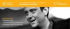 Alan Clayton (UK)  |  4. slovensko-česká konferencia o fundraisingu 9.-11.10.2013 v Bratislave www.fundraising.sk/konferencia