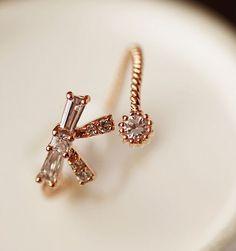 Diamond and Bow Rhinestone Ring   LilyFair Jewelry, $16.99!