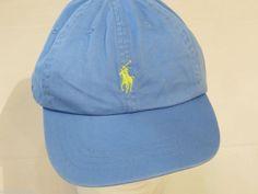 Mens Polo Ralph Lauren hat cap golf casual light blue 6501045 adjustable classic #PoloRalphLauren #cap