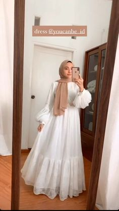 Modest Fashion Hijab, Modern Hijab Fashion, Muslim Women Fashion, Hijab Fashion Inspiration, Fashion Dresses, Fashion Ideas, Hijab Dress Party, Muslim Dress, Dress Muslim Modern