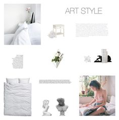 """""""Bedroom   Art Style"""" by simplyskie on Polyvore featuring interior, interiors, interior design, home, home decor, interior decorating, Dot & Bo, Umbra, McCoy Design and Visionnaire"""