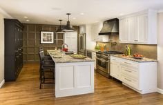White kitchen cabinets brighten up your kitchen