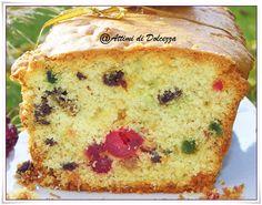 PLUM CAKE CON CANDITI E UVETTA / PLUM CAKE WITH candied fruit and raisins
