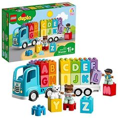 LEGO DUPLO My First Alphabet Truck ABC Letters Learning Toy. This is a favorite toy our 1 year old Loves, It's super popular and something he loves playing with.