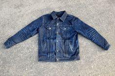 Aun T. Type 3s Jacket - Shadow Selvedge. 6 months / 1 wash ~