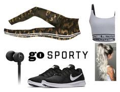 """""""Untitled #9"""" by jasmimosa ❤ liked on Polyvore featuring Beats by Dr. Dre and NIKE Beats, Sporty, Shoe Bag, Nike, Polyvore, Stuff To Buy, Accessories, Shopping, Collection"""