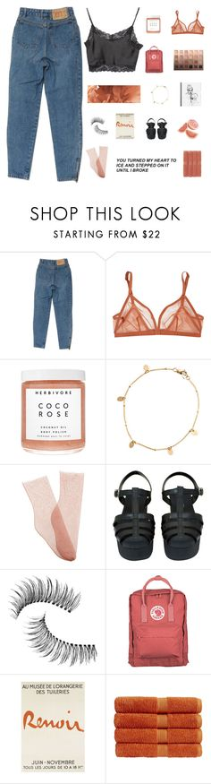 """BLUSH"" by flowerpaint ❤ liked on Polyvore featuring Eres, Herbivore, Zimmermann, Brother Vellies, Chanel, Trish McEvoy, Fjällräven, Christy and Brandy Melville"