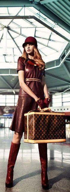 #LouisVuitton Vogue #Luxurydotcom