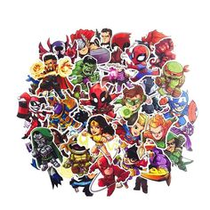 """Universe of goods - Buy Marvel The Avengers Cartoon Sticker Waterproof For Laptop Moto Skateboard Luggage Guitar Furnitur Decal Toy Stickers"""" for only USD. Stickers Cool, Stair Stickers, Cartoon Stickers, Laptop Stickers, Spiderman Stickers, Avengers Cartoon, Marvel Avengers, Sticker Bomb, Pencil Boxes"""