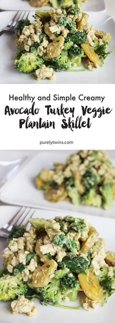 Easy and healthy ground turkey dinner idea. Great for lunches too! Creamy avocado turkey veggie plantain recipe made in under 30 minutes and serves It's gluten-free grain-free and paleo friendly. Healthy Ground Turkey Dinner, Ground Turkey Dinners, Ground Turkey Recipes, Plantain Recipes, Gluten Free Grains, Paleo Dinner, Eating Habits, Quick Easy Meals, Grain Free