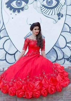 Where To Buy Christian Wedding Gowns In India - ShaadiWish White Wedding Gowns, Designer Wedding Gowns, Colored Wedding Dresses, Designer Gowns, Elegant Wedding, Popular Wedding Dresses, Wedding Dress Trends, Christian Wedding Dress, Traditional Gowns
