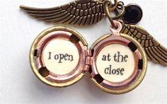Harry Potter Font Golden Snitch j'ai Open à par SimplyHarry sur Etsy, $29.00