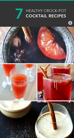 Slow Cooker Cocktails to Keep You Warm this Winter