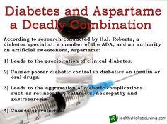 Go paleo - quit sugar & sweeteners! diabetes and aspartame