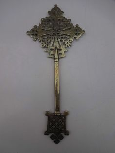 UNIQUE! Amazing antique COPTIC cross from a Clergyman - ONE-OFF-PRODUCTION