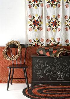 Amish quilt and design