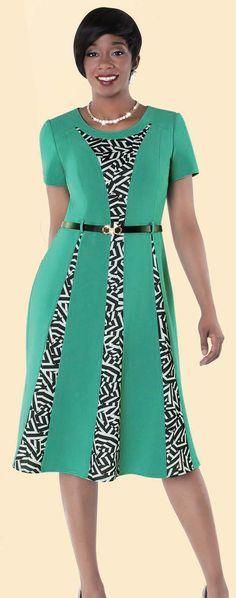 Turquoise / Print Sizes 8-26W