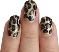 The Sparkle Queen: How To: Leopard Nail Art
