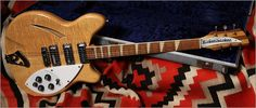 "1968 Rickenbacker Model 370 ""Mapleglo"""