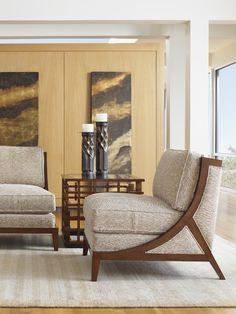 Pan-Asian Design| Tasman Chair | Tommy Bahama Home
