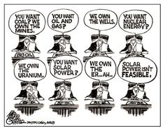 Why Solar Power Isn't 'Feasible'  Why not?  Wind power is harnessed and priced.  Do it, stop crying.  Go solar!