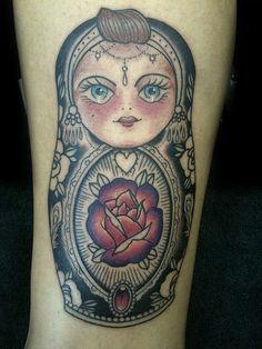 russian doll tattoo - Google Search