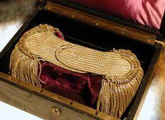 Epaulets That George Washington Wore On His Uniform Shoulders.    American Revolutionary War - (V)