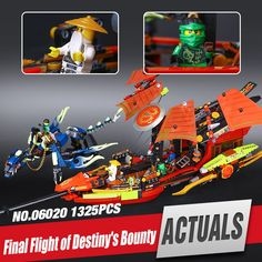 42.00$  Watch here - http://aidi8.worlditems.win/all/product.php?id=32796726054 - 2017 1325pcs Lepin 06020 NEW Nexo Knights Series Final Fight of Destiny's Bounty set Children Building Blocks Funny Toys 10402